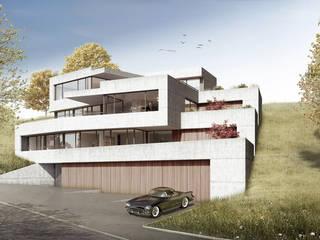 Terrassenhaus Wangen: moderne Häuser von Patrick Rüdisüli Architekten GmbH