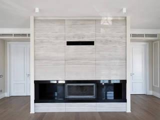 monoblok design & interiors – Tarabya B. Yalı Project:  tarz Oturma Odası