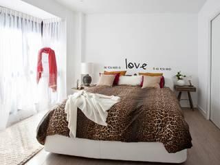 Industrial style bedroom by Disak Studio Industrial