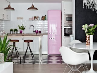 Eclectic style kitchen by Disak Studio Eclectic