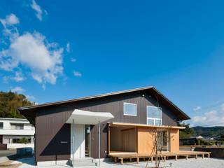 Totoro Asiatische Häuser von キリコ設計事務所 Asiatisch