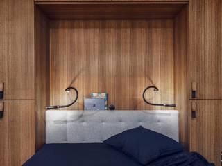 Studio Potorska Спальня в скандинавском стиле