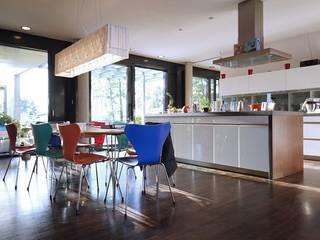 Cocinas de estilo moderno de Architekten Lenzstrasse Dreizehn Moderno