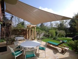 Various Shade Ideas Mediterranean style garden by Kemp Sails LTD Mediterranean