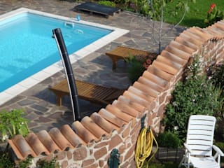 Rimini Baustoffe GmbH Mediterranean style garden