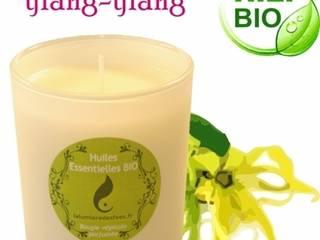 Bougie soja à l'huile essentielle BIO ylang-ylang 150grs:  de style  par La Lumière des Fées