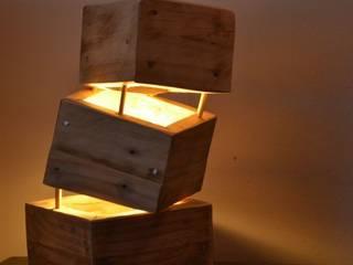 """Lampe """"Cube"""":  de style  par Thomas Dehée"""