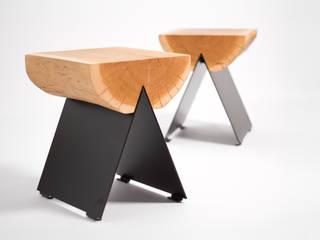 1/2 stołek / stool od WITAMINA D Skandynawski