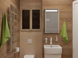 Eclectic style bathroom by 'Лайф Арт' Eclectic