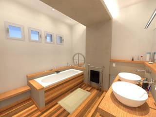 Rénovation salle de bain: Salle de bains de style  par ARtchidesign