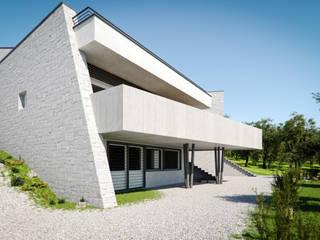 Minimalist Evler Bieffeci Architettura srl Minimalist