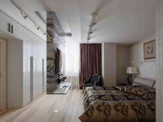 Московская квартира в облаках.: Спальни в . Автор – Хандсвел