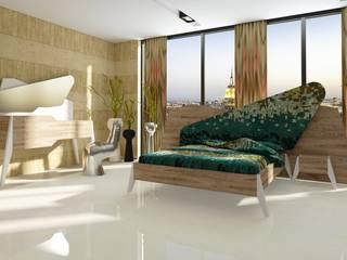 Inan AYDOGAN /IA Interior Design Office BedroomDressing tables