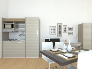 Salones de estilo moderno de PROJECT AB Moderno