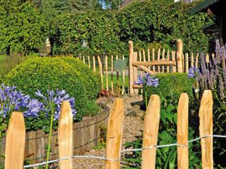 Kastanienzäune: landhausstil Garten von meingartenversand.de