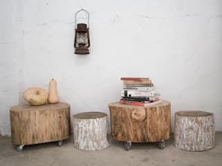 Furniture de Iron and wood Rural