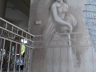 ANCELLA: Ingresso & Corridoio in stile  di Studio d'Arte Sezione Aurea