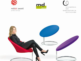 D-TEC´s Cobra Lounge Sessel:   von D-Tec Industriedesign GmbH