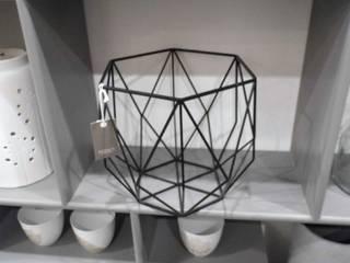 Panière diamant couleur noire:  de style  par décosphair