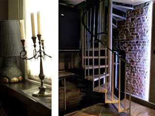 Projects - selection of images Classic style corridor, hallway and stairs by Michele Longoni Interiors Classic