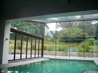 Guernsey Modern pool by JCCH Architects Modern