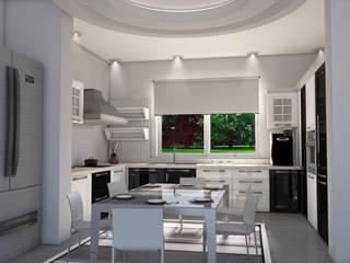 SAFİR KONAKLARI Modern Mutfak GÜNAY MİMARLIK Modern