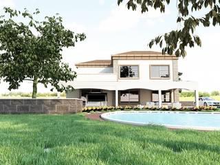 Bağ evi projesi Modern Bahçe GÜNAY MİMARLIK Modern