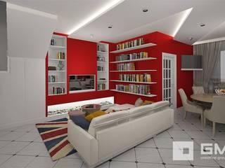 Livings de estilo ecléctico de GM-interior Ecléctico