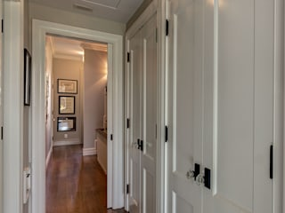 Brooklyn Townhouse Classic style corridor, hallway and stairs by Ben Herzog Architect Classic