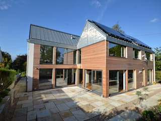 Maryville Passive House:  Houses by Joseph Thurrott Architects