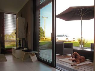 Modern terrace by smartshack Modern