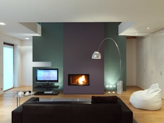 studio antonio perrone architetto Modern living room