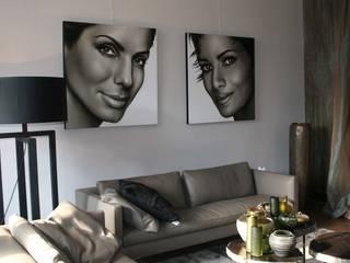 Olieverfportretten van Actrices: modern  door Saskia Vugts Portretschilder, Modern