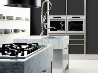 Quadra per Effeti: Cucina in stile in stile Moderno di Vegni Design
