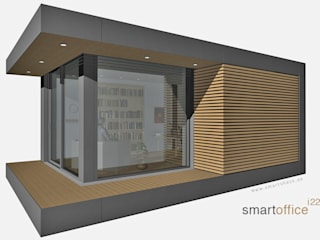 smartshack Minimalist office buildings