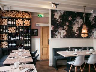 restaurant de Wandelaar in Haarlem Moderne gastronomie van IJzersterk interieurontwerp Modern
