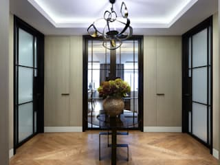 Lateral Apartment, Regents Park ห้องโถงทางเดินและบันไดสมัยใหม่ โดย Helen Green Design โมเดิร์น