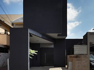 oriono no ie 一級建築士事務所アトリエm Modern houses Black