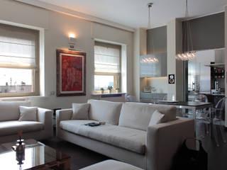 Abitazione a Milano/1 Soggiorno moderno di Francesca Bonorandi Moderno