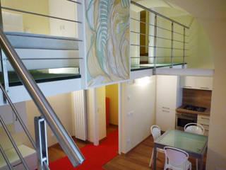 Vista soggiorno: Soggiorno in stile  di A3 Studio Associato di Architettura e Ingegneria di Arch. Ing. Marco Bramati e Arch. Marco Paolo Galbiati