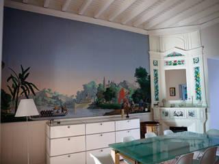 La Maison de Gilles & Nathalie Maguelone Vidal Architectures Salle à manger coloniale