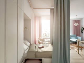 Kamińska Stańczak Scandinavian style bedroom
