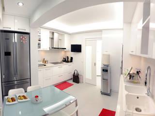Cocinas modernas de As Tasarım - Mimarlık Moderno
