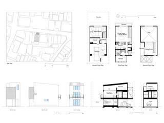 por 井戸健治建築研究所 / Ido, Kenji Architectural Studio