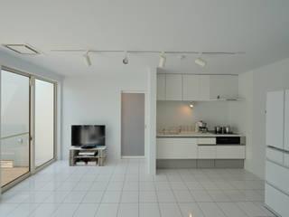 加藤一成建築設計事務所 Modern living room