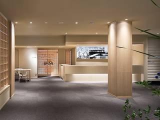 城崎温泉湯楽 Yuraku Kinosaki Spa & Gardens アジア風商業空間 の 有限会社 ディー・アーキテクツ 和風