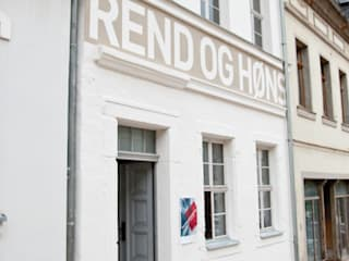 Umbau Stadthaus Hjortshøj & Laursen:   von ahoch4 Architekten
