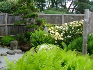 tsubo niwa - japanischer Hofgarten:  Garten von ROJI Japanische Gärten