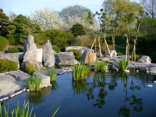 Koiteich Asiatischer Garten von ROJI Japanische Gärten Asiatisch