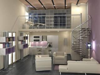 Proposta progetturale: Soggiorno in stile  di eccOfattO interiors
